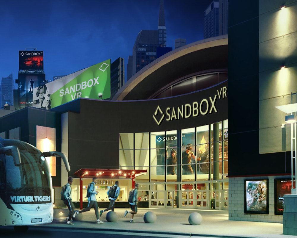 Franchise Opportunities - Sandbox VR | In Here, It's Possible